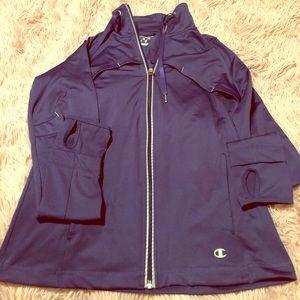 💗💗Champion zip up coat
